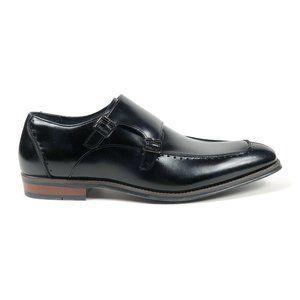 Stacy Adams Baldwin Moc Toe Monk Strap Oxford Shoe